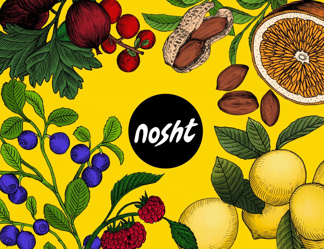 Nosht __fruit and veggie illustrations